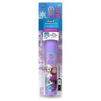 รีวิวพันทิป แปรงสีฟันไฟฟ้า Oral-B Pro-Health Disney's Frozen Battery Power Electric Toothbrush for Kids