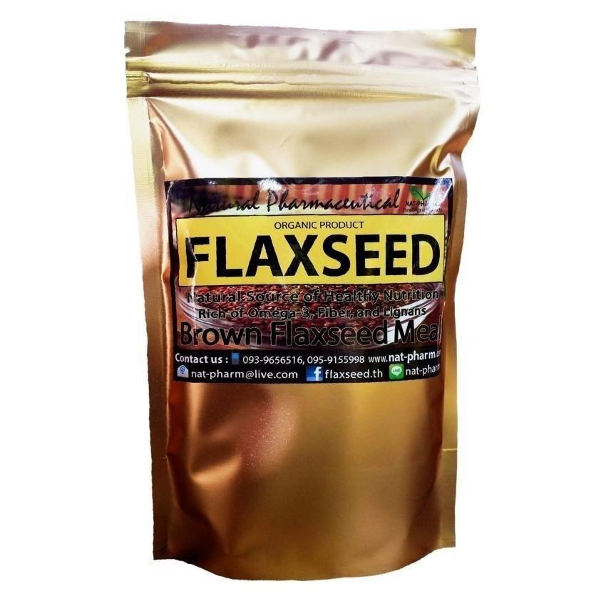 check ราคา Organic Brown Flaxseed Meal 200 กรัม (สีน้ำตาล) มาใหม่