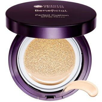 ORIENTAL PRINCESS รองพื้นคุชชั่น Beneficial Perfect Cushion SPF 50 PA+++ No.01 Ivory Beige 13.5 g.