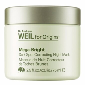 Origins Dr.Andrew Weil For Origins Mega-Bright Dark Spot Correcting Night Mask 75 ml (มาส์กเนื้อเข้มข้นลดเลือนจุดด่างดำ ปรับสีผิวให้สว่างกระจ่างใส)