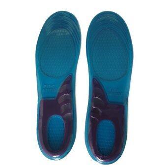 แผ่นรองเท้าเพื่อสุขภาพ Orthotic Arch Support Insoles (สีฟ้า)