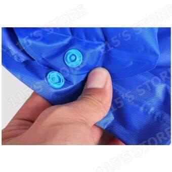 ที่นอนกันแผลกดทับ รุ่นเปิดช่องขับถ่าย ที่นอนลมช่วยป้องกันแผลกดทับสำหรับผู้ป่วย พร้อมมอเตอร์ทำงานอัตโนมัติ- สีน้ำเงิน (ควบคุมคุณภาพ Package Boxset พร้อมกล่อง) - 4