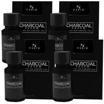 รีวิวพันทิป Parin Charcoal Serum Hair Detox ชาโคล เซรั่ม ฟื้นฟูผมเร่งด่วนล้างสารพิษบนเส้นผม เพียง 1 หยด สยบทุกปัญหาผม ขนาด 15 มล. ( 4 ขวด)