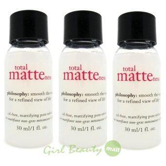 ลดราคา PHILOSOPHY Total Matteness Oil-Free Mattifying Pore Refiner 30ml.X3 pcs.