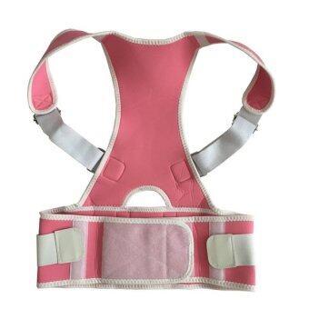 2560 plusslim back brace posture เสื้อเสริมหลังตรง เพื่อบุคลิกภาพให้ดูดี (สีชมพู)