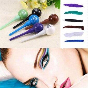 Popular New Fashion Women Lollipop Liquid Eyeliner Eye Liner Pencil Cosmetic Waterproof - intl