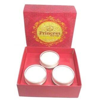 Princess Skin Care ครีม หน้าขาว/หน้าเงา/หน้าเด็ก แพ็คเกจใหม่ล่าสุด(1 เซ็ท 3 กระปุก) แถมฟรีสบู่หน้าเงา1ก้อน