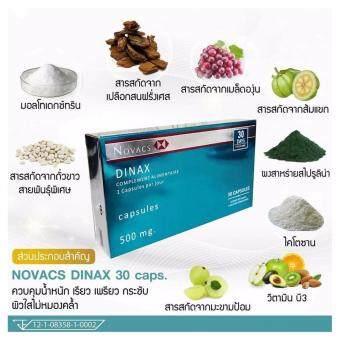 Dinax โนแวคส์ ดีแนกซ์ อาหารเสริมควบคุมน้ำหนัก ลดจริง ลดไว ปลอดภัย จากฝรั่งเศส