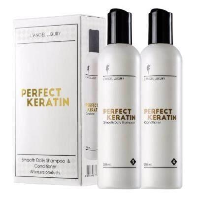 Product details of L'ANGEL Perfect Keratin เพอร์เฟ็ค เคราติน 258ml.x2 กล่องขาว