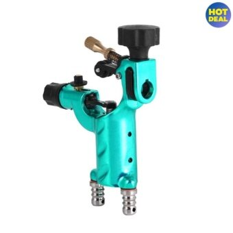 Professional Electric Rotary Shader Tattoo Machine Makeup Tool(Green) - intl