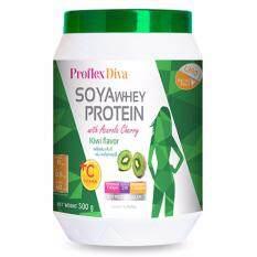Proflex Diva Whey Protein Kiwi [500 g.] เสริมสร้างความสวยงาม ทำให้รูปร่างเดียวกระชับเข้ารูป