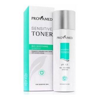 ประเทศไทย Provamed Sensitive Toner Bio-Soothing Synergy For Sensitive Skin 200ml.โทนเนอร์สำหรับผิวแพ้ง่าย