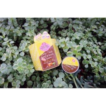 Pure Face Sunscreen Cream UVA/UVB SPF50 PA++ ครีมกันแดดหน้าเพียวเฟส by Jellys 10 ml 3 กระปุก สินค้าขายดี