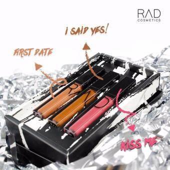 ของแท้ ลิปน้ำชา RAD Cosmeticsเซต RAD Lovely Glossy Set