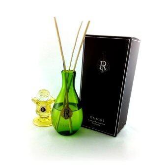ประเทศไทย Ramaira Green premium pink floral reed diffuser 200 ml.