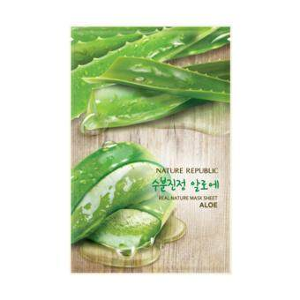 Harga REAL NATURE ALOE MASK SHEET