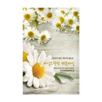 Harga REAL NATURE CHAMOMILE MASK SHEET