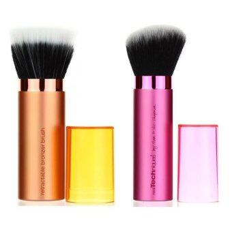 Harga Real Techniques Hot Set 8 รุ่น Retractable bronzer + RetractableKabuki Brush