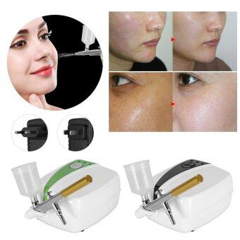 Rejuvenating SPA Beauty Oxygen Injection Machine Peel Water Sprayer(Black EU Plug) - intl