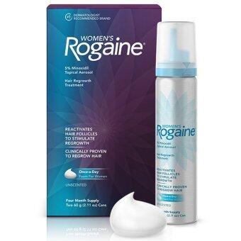 รีวิว Rogaine Foam 5% Minoxidil ยาปูลกผมผู้หญิง (2 ขวด สำหรับ 4 เดือน)