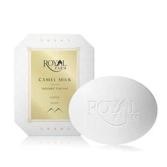 ต้องการขาย ROYAL FARM สบู่ล้างหน้า นมอูฐดูไบ Camel Milk Balanced Facial Soap