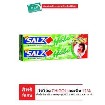 SALZ ซอลส์ฮาบุยาสีฟันสมุนไพร 160ก.x2