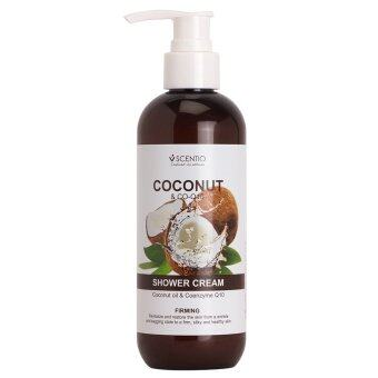 Harga Scentio Coconut &Co-Q10 Shower Cream