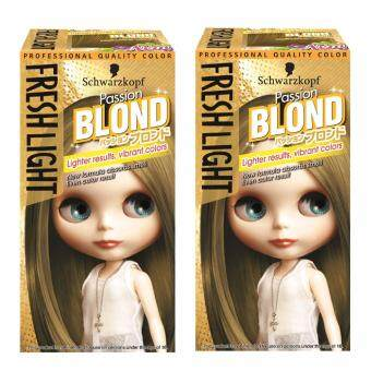 Harga Schwarzkopf Fresh Light Milky Color Passion Blond Pack 2