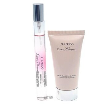 SET Shiseido Ever Bloom Perfume10 ml. Feat.+ Body Lotion 30 ml.