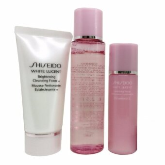 Harga Shiseido Set White Lucent (3 ชิ้น)