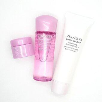 Shiseido white lucent 3 pcs.