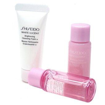 Harga Shiseido White Lucent set 3 Pcs.( ขนาดทดลอง)
