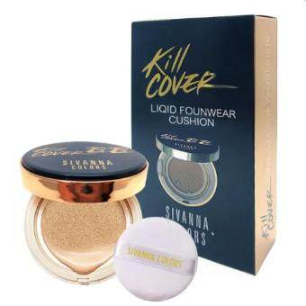 Harga Sivanna BB Kill Cover Liqid Founwear Cushion No.10 (ผิวขาว)