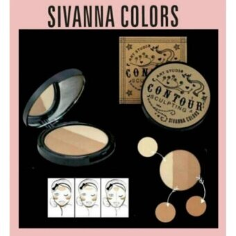 Harga SIVANNA COLORS ART STUDIO CONTOUR SCULPTING