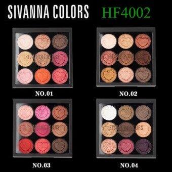 Sivanna Eyeshadow เนื้อครีม รุ่น HF4002 เบอร์ 3