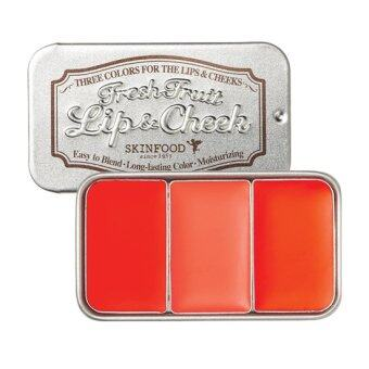 SkinFood Fresh Fruit Lip & Cheek Trio 7.5g # 3 Tomato