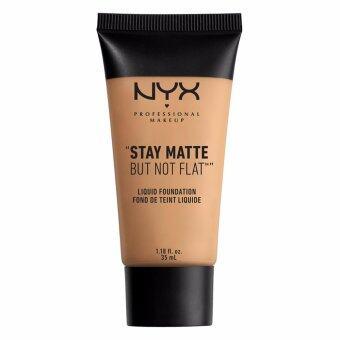 นิกซ์ โปรเฟสชั่นแนล เมคอัพ สเตย์ แมท บัท น็อท แฟลท ลิควิค ฟาวเดชั่น - SMF07 วอร์ม เบจ รองพื้น NYX Professional Makeup Stay Matte But Not Flat Liquid Foundation - SMF07 Warm Beige FOUNDATION