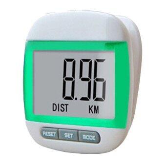 ต้องการขาย SP เครื่องนับก้าวการเดินและวัดแคลอรี่ระบบดิจิตอล (Pedometer) -สีเขียว