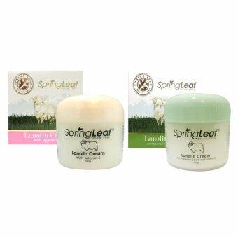 Spring Leaf Lanolin Cream With Placenta Extract and Vitamin E 100 g. 1ชุด