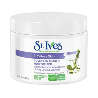 St. Ives Timeless Skin Collagen Elastin Moisturizer 10 oz (283 g) มอยเจอร์ไรเซอร์เข้มข้นด้วยคอลลาเจน และอิลาสติน