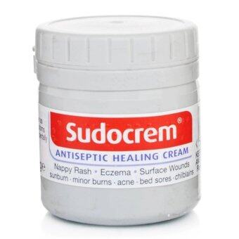 Sudocrem ซูโดเครม สกินแคร์ครีม ครีมทาผื่นผ้าอ้อม และ ผื่นต่างๆ ขนาด 125 กรัม (1 กระปุก)