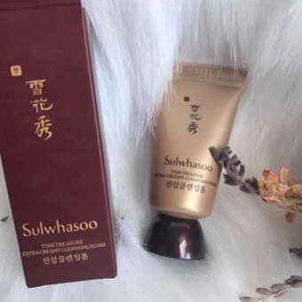 SulwhasooTimetreasure Extra Creamy Cleansing Foam 15 g.