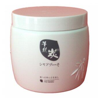 รีวิว Sunpuso ซันปุโซะ ชาร์โคล ดิสทิเลท แฮร์ มาส์ค 500มล. Sunpuso Charcoal Distillate Hair Mask 500 ml