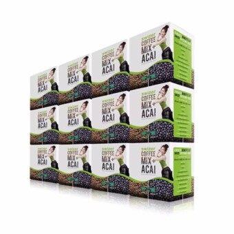 ราคา SWIZER COFFEE MIX ACAI BERRY สไวเซอร์ คอฟฟี่ มิกซ์ พลัส อาซาอิ ขนาด 150 กรัม 12 กล่อง