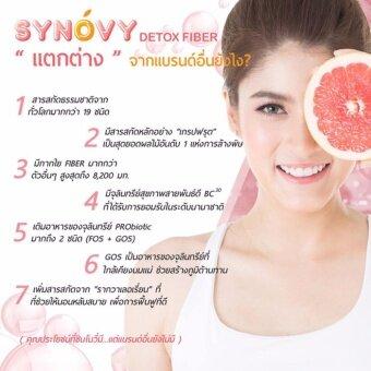 Synovy Fiber Detox ซินโนวี่ ไฟเบอร์ ดีท็อกซ์อาหารเสริมควบคุมน้ำหนัก