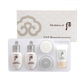 The History Of Whoo GongJinHyang Seol Radiant White Special GiftSet 5 ชิ้น