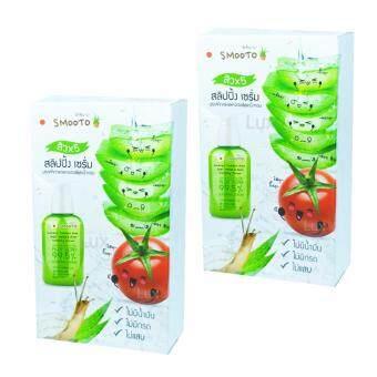 Tomato Tomato Aloe Vera สมูทโตะ โทเมโท อโลเวร่า สูตรรักษาสิวดูแลสิว 5 ประการ บรรจุ 6 ซอง (2 กล่อง)