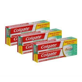 คอลเกต ยาสีฟัน โททอล โปรเฟสชั่นแนล คลีน เจล 150 กรัม แพ็คคู่ X3