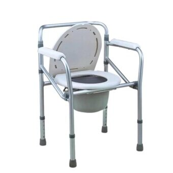 ราคา Triple เก้าอี้นั่งถ่ายพับได้ปรับได้ อลูมิเนียม รุ่น Y311 - สีขาว