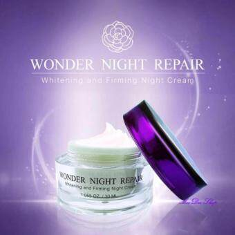 V2 Revolution Wonder Night Repair ผิวหน้าเนียนใส 15ml (1 กล่อง)
